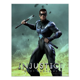 Nightwing Impresiones