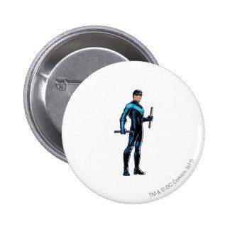 Nightwing parece derecho pin
