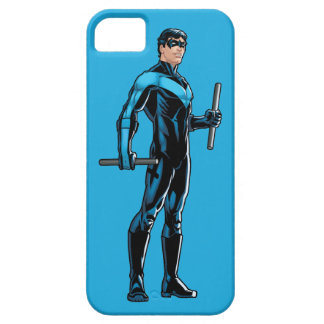 Nightwing parece derecho iPhone 5 Case-Mate protectores