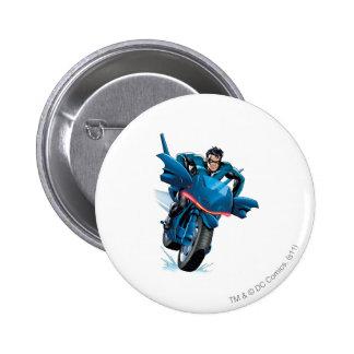Nightwing rides bike button
