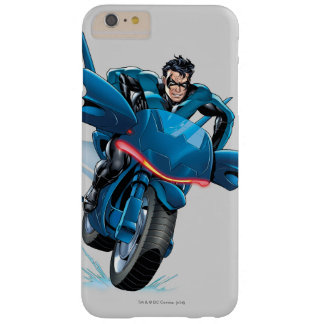 Nightwing rides bike barely there iPhone 6 plus case