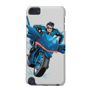 Nightwing rides bike iPod touch 5G cover