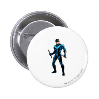 Nightwing Stands Pins