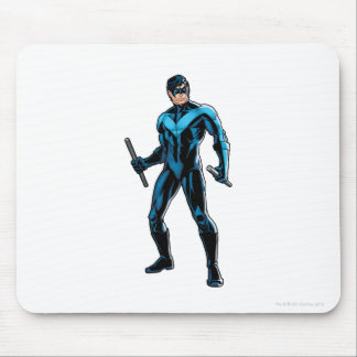 Nightwing Stands Mouse Pad