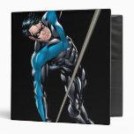 Nightwing with rope 3 ring binder