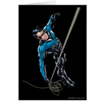 Nightwing with rope card