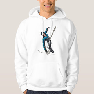 Nightwing with rope hoodie