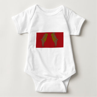 nighty and leo baby bodysuit
