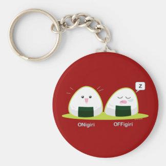 Nigiri Basic Round Button Keychain