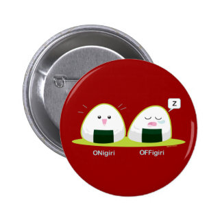 Nigiri Pin Redondo De 2 Pulgadas