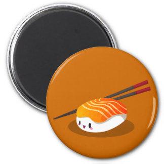 Nigiri Sake 2 Inch Round Magnet