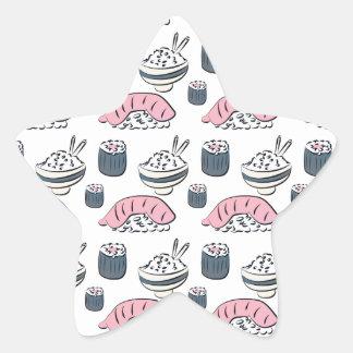 Nigiri Sushi Star Sticker