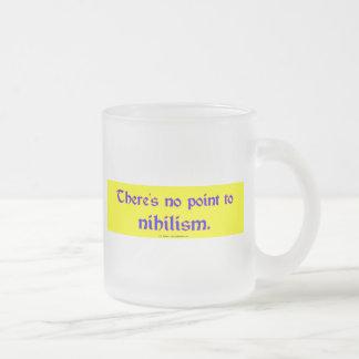 Nihilismo Taza De Cristal