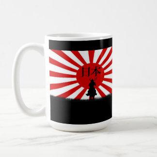 Nihon Flag of Japan Samurai Patriotic Mug Series