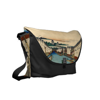 Nihonbashi bridge in Edo Messenger Bag