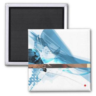 Nihonjin 2.0 2 inch square magnet