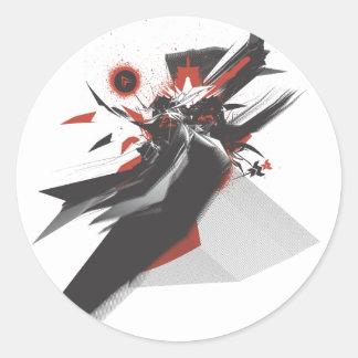 Nihonjin Design Classic Round Sticker
