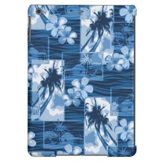 Niihau Island Hawaiian Plumeria and Palm Tree Case For iPad Air