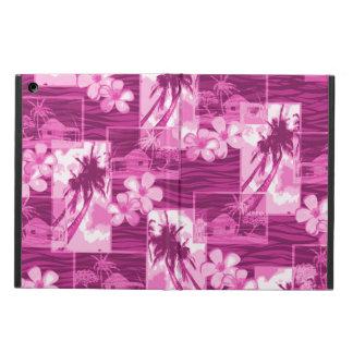 Niihau Island Hawaiian Plumeria and Palm Tree Cover For iPad Air