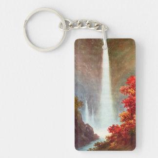 Niimi Kegon Waterfall Nikko japanese waterscape Keychain