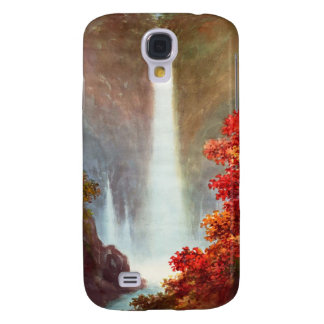 Niimi Kegon Waterfall Nikko japanese waterscape Samsung Galaxy S4 Cover