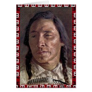 """""""Niitsitapi (ᖹᐟᒧᐧᒣᑯ, meaning 'original people"""" Card"""