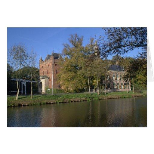 Nijenrode castle greeting card
