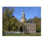 Nijenrode castle postcard