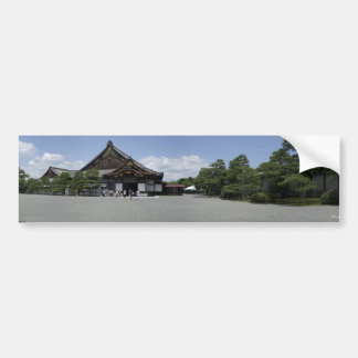 Nijo-jo Main Entry Bumper Sticker
