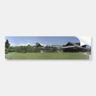 Nijo-jo Niromaru Garden Bumper Sticker