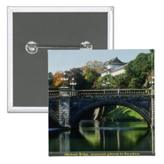 Nijubashi Bridge, ceremonial gateway to the palace Pin