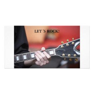 NIK_7129, LET 'S ROCK! PHOTO GREETING CARD