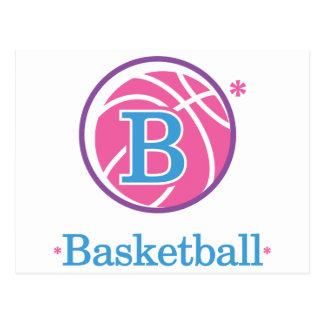 Nika Basketball Postcard