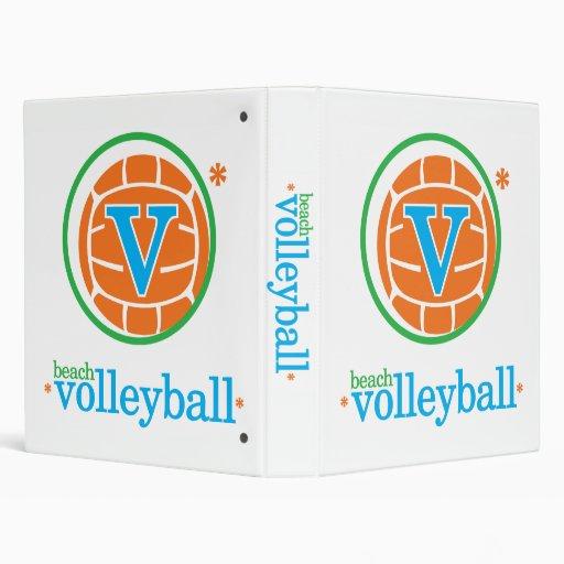 Nika Beach Volleyball Binder