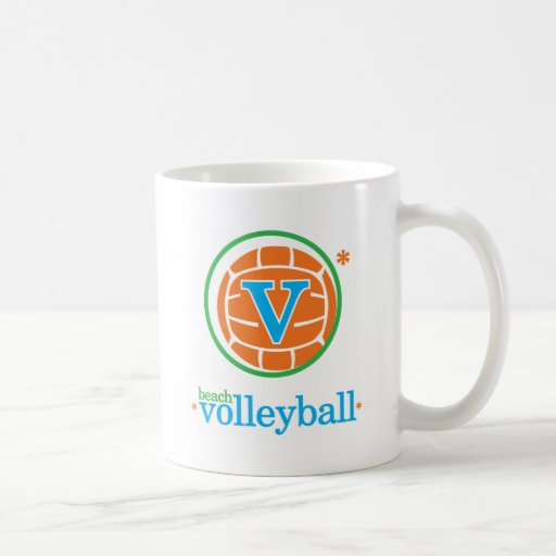 Nika Beach Volleyball Coffee Mug