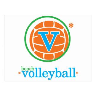 Nika Beach Volleyball Postcard