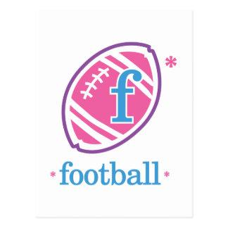 Nika Football Postcard