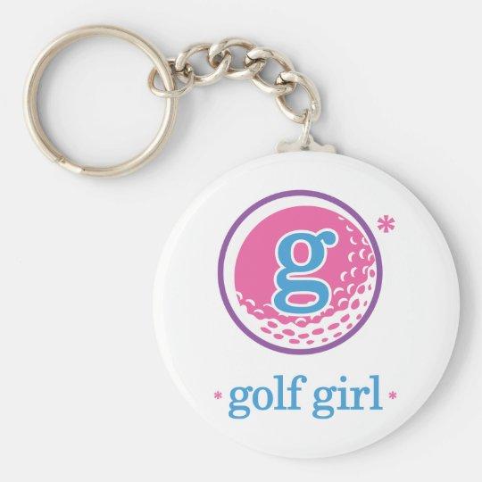 Nika Golf Keychain