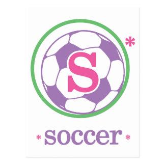 Nika Soccer Postcard