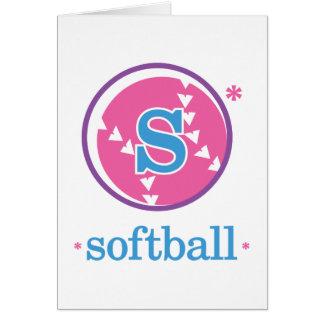 Nika Softball Card