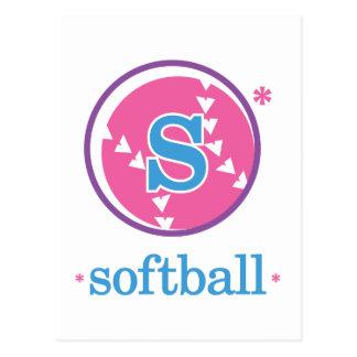 Nika Softball Postcard