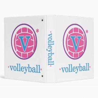 Nika Volleyball Binder
