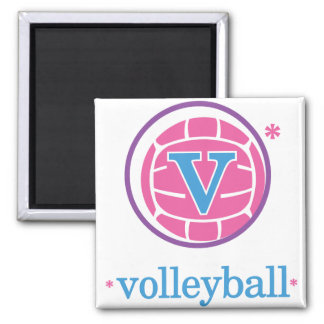 Nika Volleyball Magnet