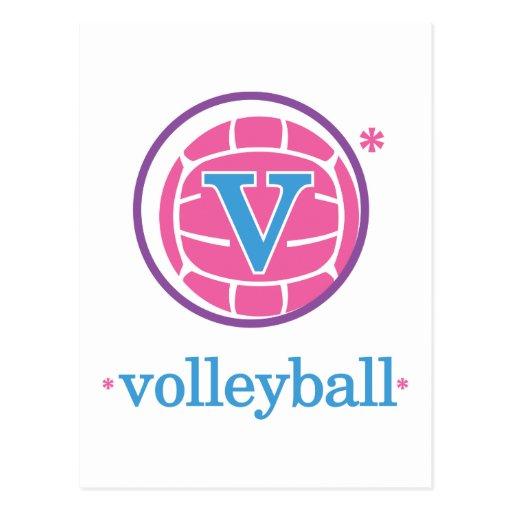 Nika Volleyball Postcard