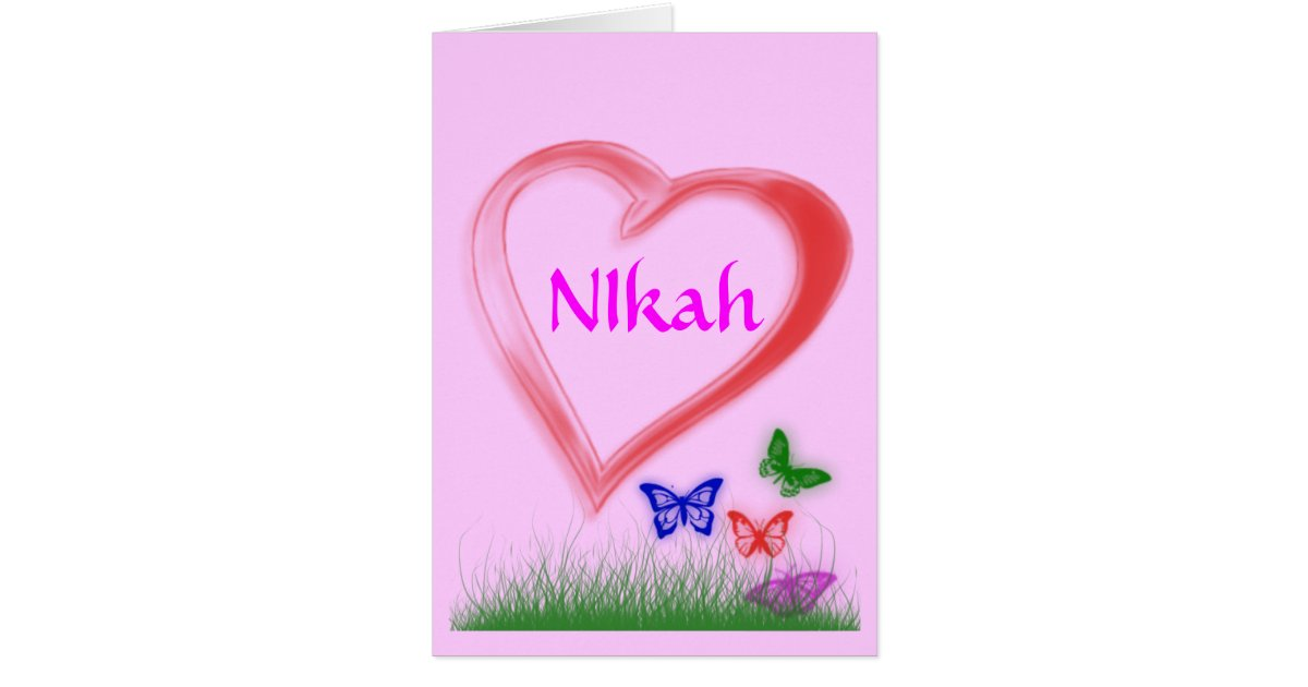 Muslim Wedding Greeting Cards