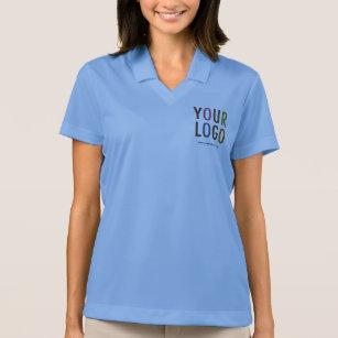 Nike Dri Fit Women Polo Shirt Custom Company Logo