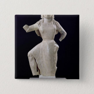 Nike, from Delos, c.550 BC Pinback Button