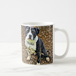 Nike the Much Loved Pitbull Coffee Mug