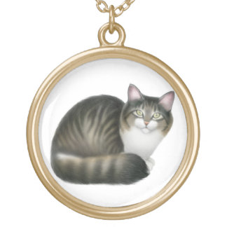 Nikey the Friendly Cat Necklace