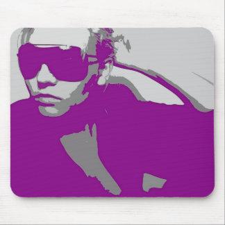 Niki in Glasses Mouse Pad